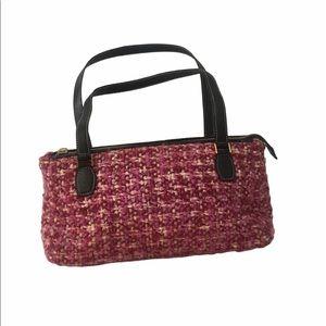 Kate spade wool tweed vintage handbag